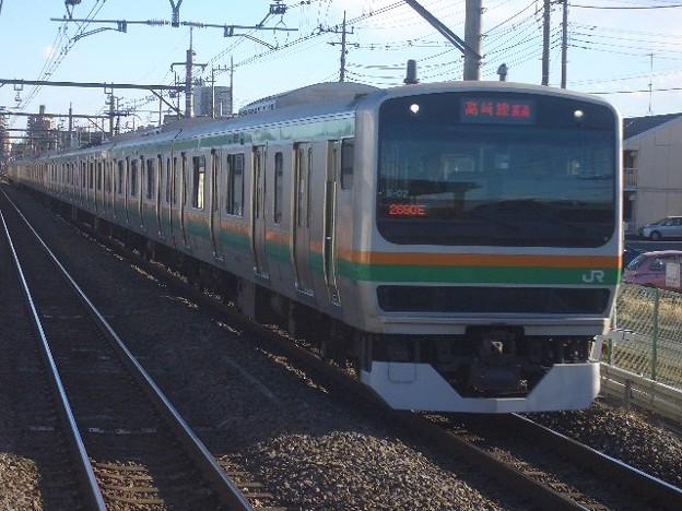 湘南新宿ライン 普通籠原行 CIMG9693