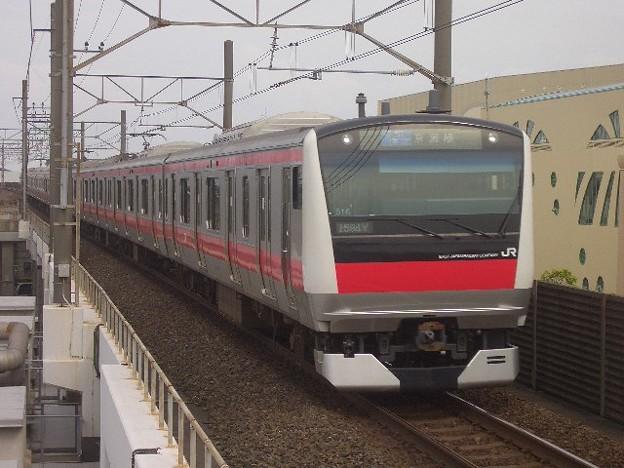 京葉線 普通東京行 CIMG9789