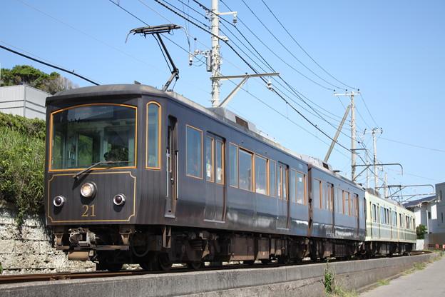 江ノ電20形 21F(リバイバルカラー)