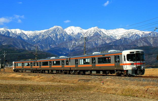 冬の飯田線(伊那本郷~七久保)