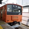 201系中央線(東京駅にて。)