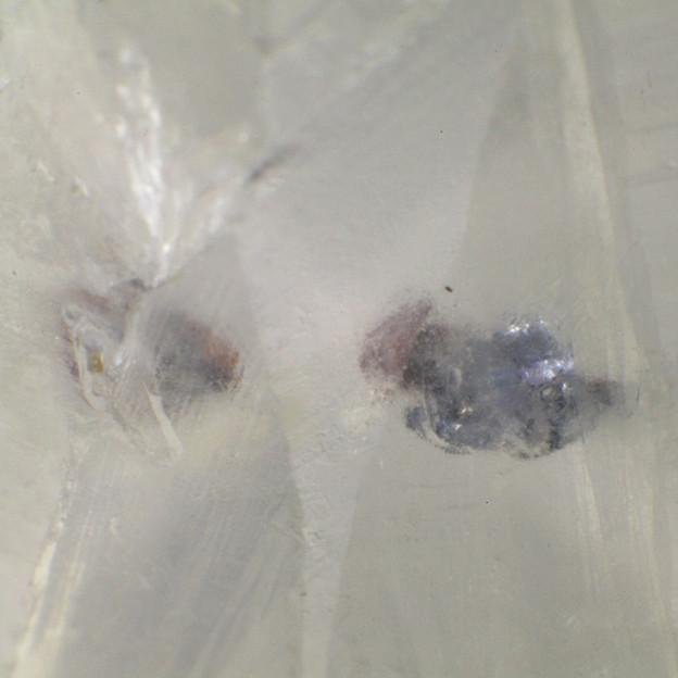 モリブデナイト入り水晶その3