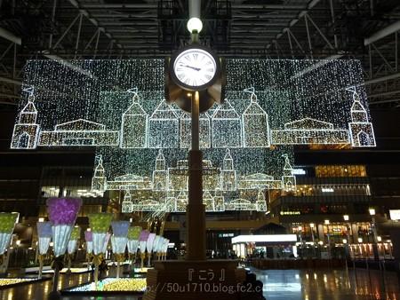131229-大阪駅 時空の広場(夜) (10)