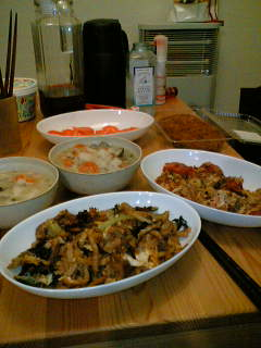 Photos: 手作り晩御飯