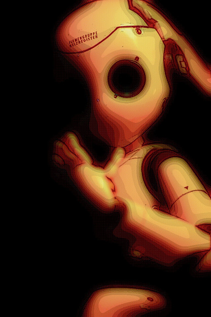 I, Robot(漫画加工)