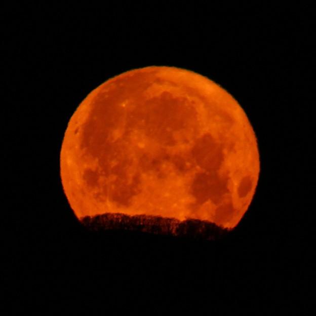 『月の入り』