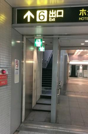 2013年飾り山おすすめ見学ルート11中洲川端駅6番出口