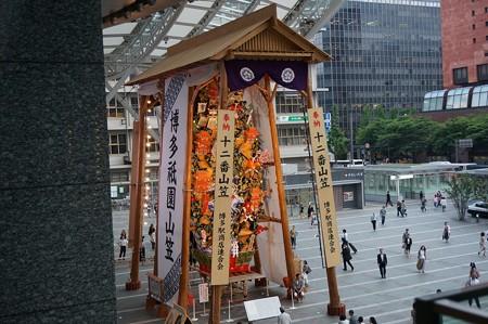 02 博多祇園山笠 飾り山 博多駅 2013年 サザエさん写真11