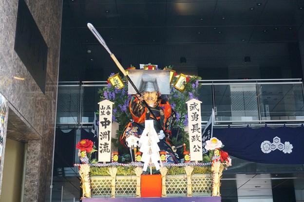 Photos: 10 博多祇園山笠 2013年 中洲流 舁き山 武勇長政公 ぶゆうながまさこう 写真04