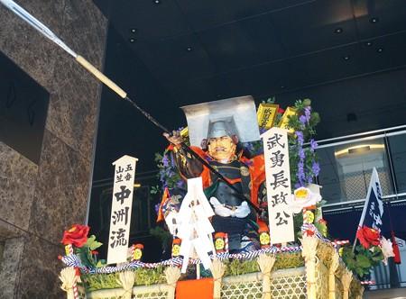 10 博多祇園山笠 2013年 中洲流 舁き山 武勇長政公 ぶゆうながまさこう 写真06