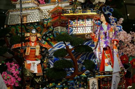 12 博多祇園山笠 2013年 ソラリア 呑取名槍日本号 飾り山笠  写真06