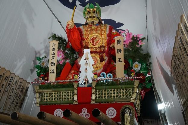 19 博多祇園山笠 2013年 西流 舁き山笠 蘭陵王 らんりょうおう 写真10