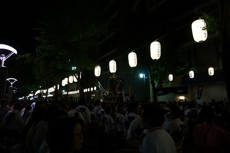 2013年7月15日 博多祇園山笠 追い山 写真11待機中の舁き山