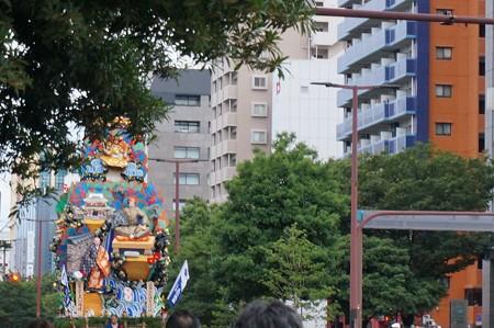 2013年7月15日 博多祇園山笠 追い山 写真32走る飾り山笠