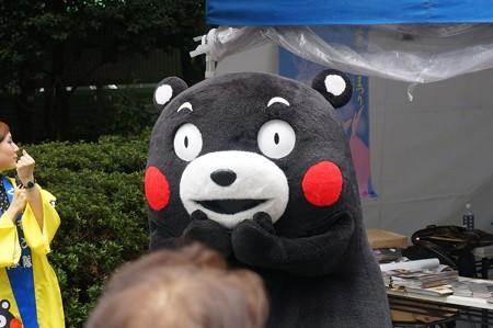 2013年7月26日 福岡市役所ふれあい広場 山鹿市観光物産展 山鹿灯籠まつり くまモン16
