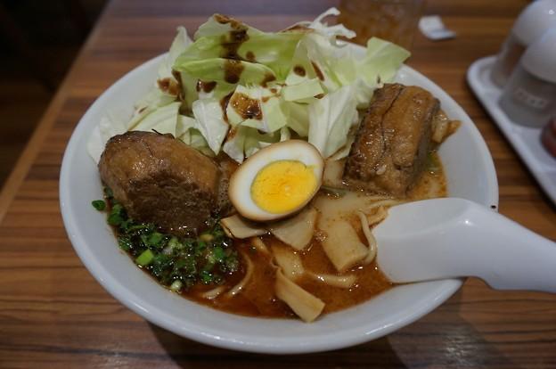 桂花ラーメン 太肉麺 ターローメン 桂花ラーメン本店にて (9)