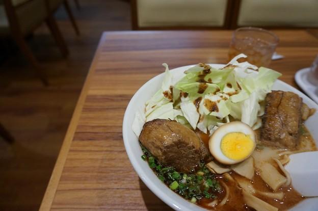 桂花ラーメン 太肉麺 ターローメン 桂花ラーメン本店にて (10)