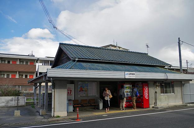 JR西日本・津山線、法界院駅 - ...