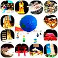 写真: レゴで作った世界遺産展