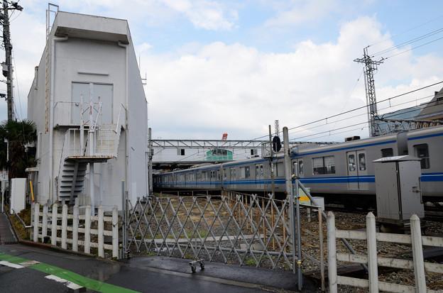 西武所沢車両工場引込線跡