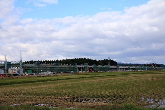 北海道新幹線高架橋建設中02-12.10.24