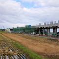 Photos: 北海道新幹線高架橋建設中04-12.10.24