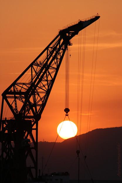 Photos: 夕陽釣り