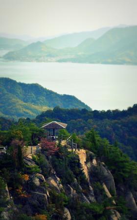 日本の風景とは思えない(白滝山展望台)