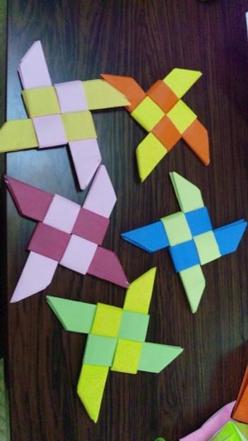 ハート 折り紙 忍者 折り紙 : photozou.jp