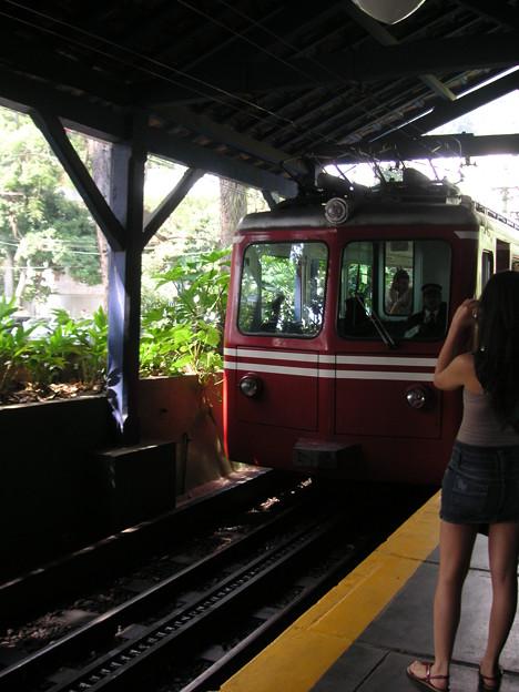登山電車外観