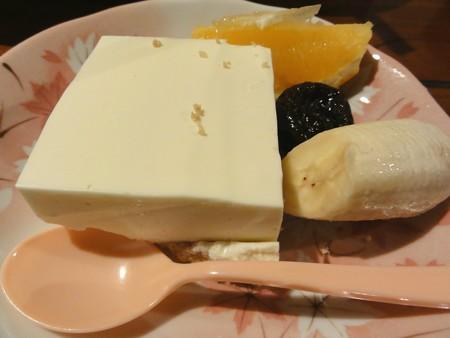 女将さん特製チーズケーキ
