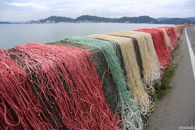 漁網のある風景5