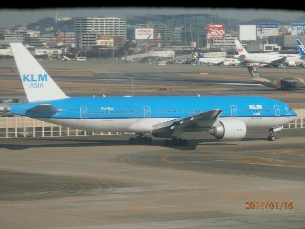 KLMオランダ航空3 PH-BQL