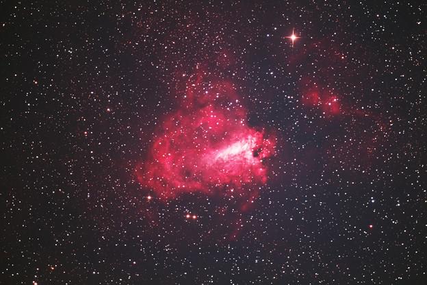 オメガ星雲 M17(^^)