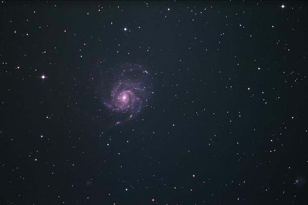 回転花火銀河 M101(^^)