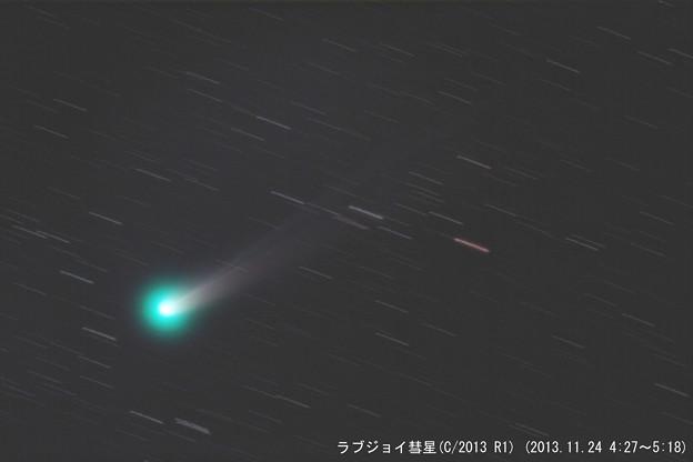 11/24のラブジョイ彗星(C/2013 R1)
