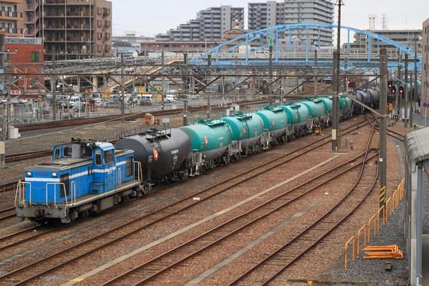 Photos: 5881レ KD55 102+タキ