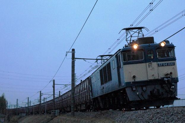 2083レ EF64 1041+コキ