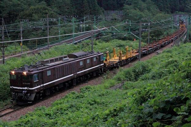 Photos: 工9775レ EF64 1001+チキ