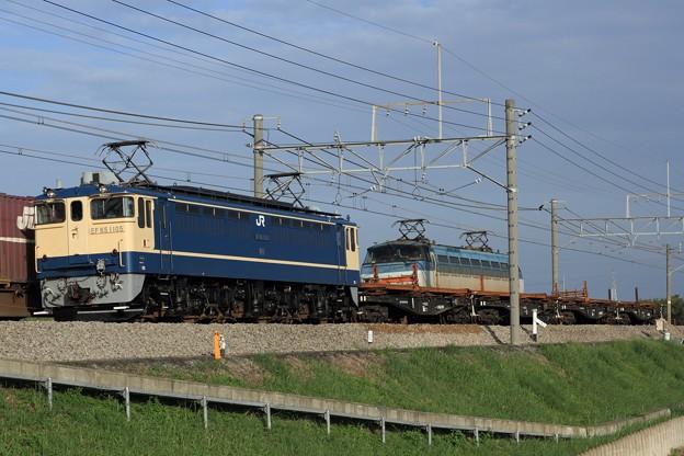 Photos: 工9773レ EF65 1105+チキ