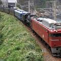 配9841レ EF81 141+C61 20+オヤ12-1+旧型客車 6両