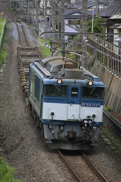 Photos: EF64-1047 『鹿島貨物』73レ
