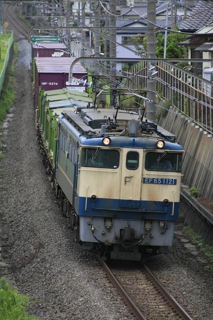 Photos: EF65-1121 『蘇我貨物』1091レ
