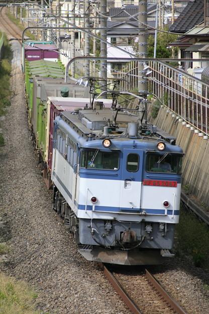 【日々の演習】1091レ 蘇我貨物@ 幕張本郷のお立ち台1号
