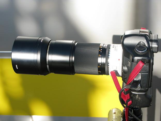Carl Zeiss Sonnar T* 2,8/180mm+Extender 1.4x II (その2)