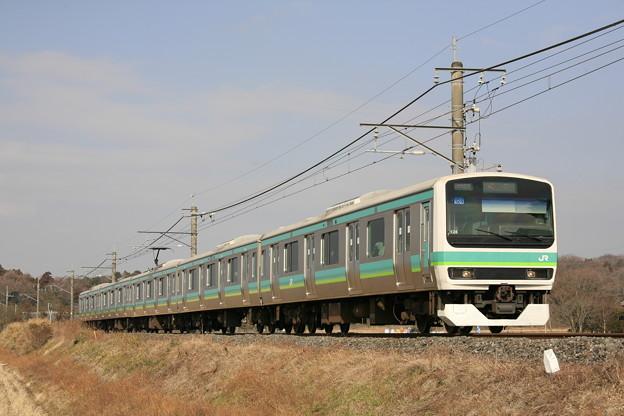 Photos: _MG_0687 成田線(我孫子線)普通電車 E231系5連