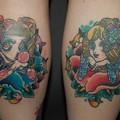 Photos: トラッドガールズのタトゥー two trad girls tattoo