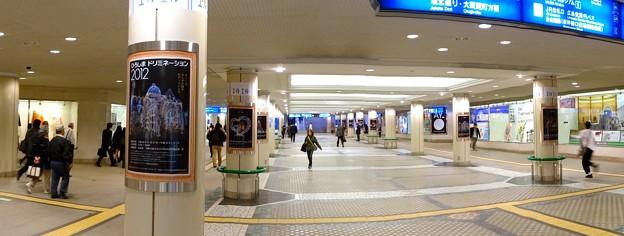 広島駅南口地下道