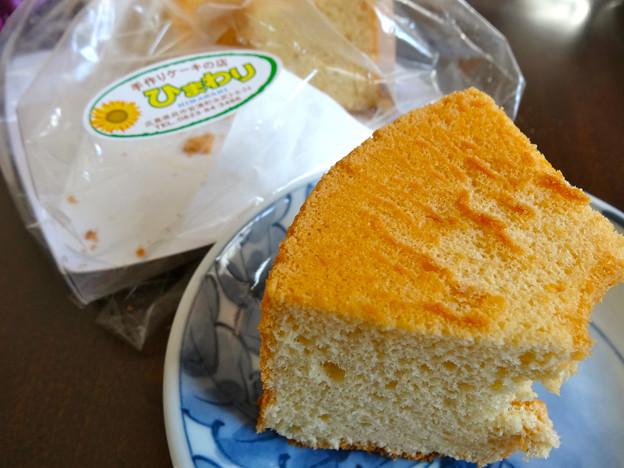 手作りケーキの店ひまわり 醤油シフォンケーキ