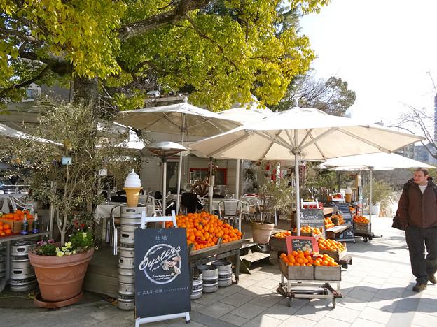 元安川オープンカフェ Motoyasu River Open cafes Cafe Ponte ITALIANO カフェポンテ イタリアーノ 広島市中区大手町